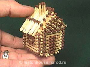 Инструкция домики из спичек